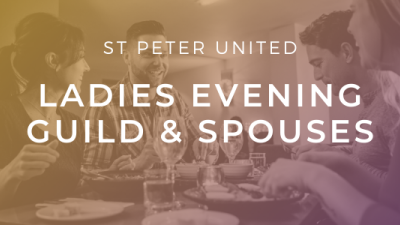 [Canceled] Ladies Evening Guild and Spouses (LEGS)