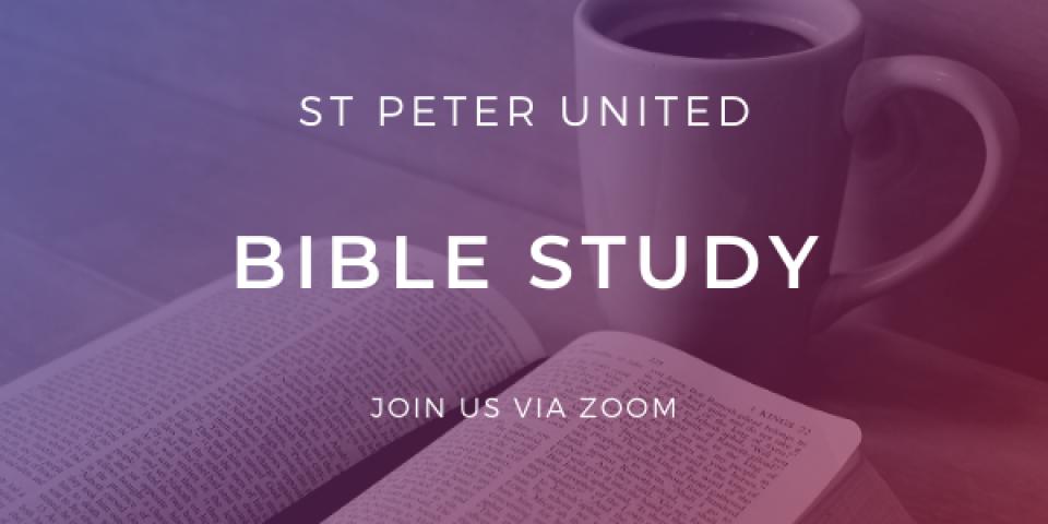 [Virtual Meeting] Bible Study