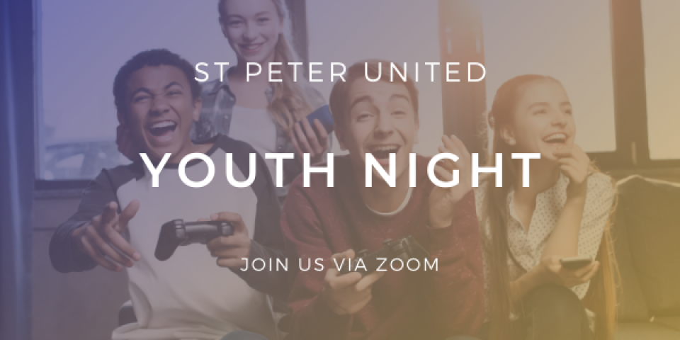 [Virtual Meeting] Youth Night & Check-In